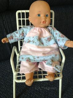 Beginning with Baby Doll Clothes