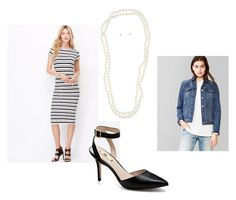 Look 1 by stylebyali on Polyvore featuring Gap, Vince Camuto and ALDO