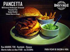 ROCK´N DALLE HAMBURGUERIA Nova hamburgueria de Osasco Rua Agudos, 739 - Rochdale. Osasco