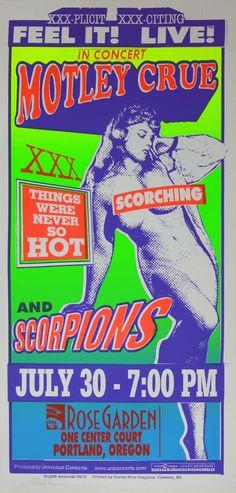 Mark Arminski. Rock Posters