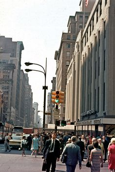 34 Street and 5th Avenue 1970's