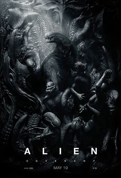 Alien: Covenant movie news, trailer, cast and plot info. The sequel to Prometheus directed once again by filmmaker Ridley Scott, Alien: Covenant stars Michael Fassbender and Noomi Rapace. Alien Vs Predator, Alien Convenant, Alien 2017, Alien 1979, Giger Alien, Michael Fassbender, Alien Covenant Full Movie, Movies To Watch, Good Movies