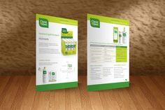 CleanWell Broşür Tasarımı