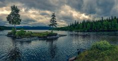 A lake in Jämtland Sweden [OC] [3808x1992] #landscapes #nature #beauty #photography #travel