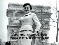 SYLVIE-ROSINE NUMEZ MISS FRANCE 1957