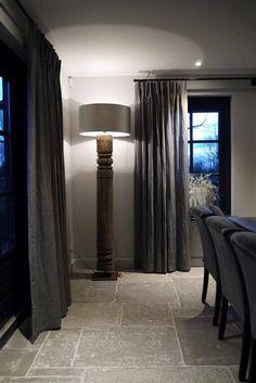Gordijnen en raamdecoratie voor een industrieel #interieur | For the ...