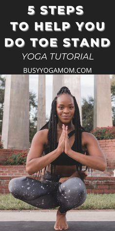 Check out this step-by-step yoga tutorial featuring 5 steps showing how to do Toe Stand yoga pose. Advanced Yoga, Beginner Yoga, Workout Routines, Yoga Workouts, Yoga Routine, Workout Ideas, Yoga For Balance, Lotus Pose, Before And After Weightloss