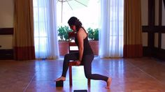 This Chair Yoga flow is absolutely fabulous! Best we've EVER seen!... brings Chair Yoga into being... a full-fledged yoga practice! FABULOUS if you are unable to do yoga the usual way!...