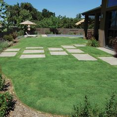 allee de jardin contemporain béton   Garden - Landscaping ...
