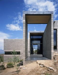 Garcia Residence, Tucson Mountains, Arizona by Ibarra Rosano Design Architects