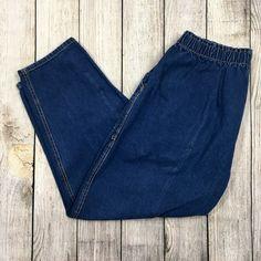 d430db1a62f Details about DARK BLUE HIGH WAIST WOMEN S PLUS SIZE denim jeans SKINNY LEG  BE-8B003MS 14-24