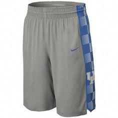 7328de834b4 Nike Kentucky Wildcats Hyper Elite Platinum Basketball Shorts - Dark Gray