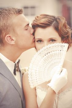 love this shot of the bride and groom by GideonPhoto.com