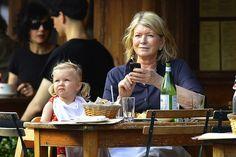 @MarthaStewart Teaches Her Granddaughter Table Manners (Photos)