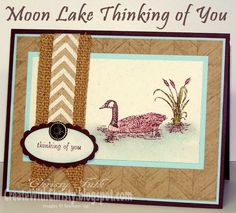 Stampin' Up! Moon Lake Card - Masculine Card - Create With Christy - Christy Fulk, Stampin' Up! Demo