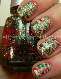 Christmas nails i would love to do!!