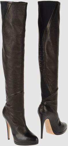 Casadei Black High Heeled Boots