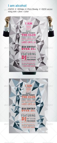 I AM ALCOHOL ...  alcohol, club, fun, party, print template, standard, triangle