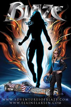 BLAZE Super Heroine coming soon to a news stand near you