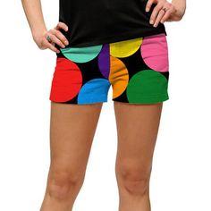 LoudMouth Ladies Big Balls Mini Shorts (#SS) #golf #golfpants #golffashion