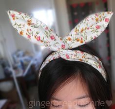 Usamimi Headband, Easter and than again for Halloween?! Maybe!