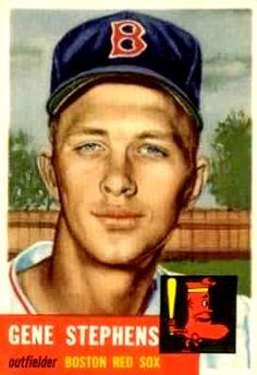 248 - Gene Stephens RC, DP - Boston Red Sox