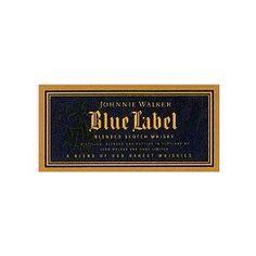 Johnnie Walker Scotch Blue Label 750ML