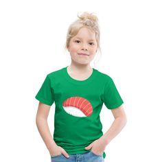Geschenke Shop | Sushi - Kinder Premium T-Shirt Sushi, Baby Kind, Unisex, Kind Mode, Babys, Shopping, Tops, Fashion, Scubas