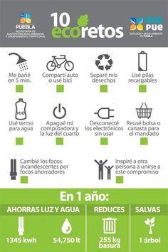 10 retos para cuidar la naturaleza