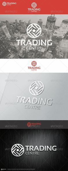 Trading Center Logo – An excellent logo template suitable for finance and trading businesses. This logo that can be used by multi media developers, web designers, financial and capital, supermarkets or entertainment center, insurance company, software companies and applications, professionals design and photography, clothing and apparel brands in restaurants and bars, in agencies and studios, among other uses.