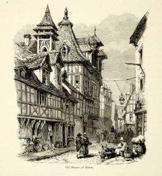Fachwerk haus mittelalter skizze architecture drawing for Fachwerk wiki