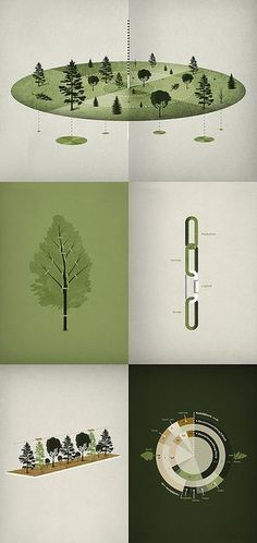 Forestry Infographics by Michl Paukner, via Flickr #infographics