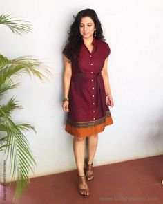 Sewing Dresses For Women, Frock For Women, Trendy Dresses, Casual Dresses, Short Dresses, Girls Dresses, Frock Fashion, Fashion Hub, Teen Fashion