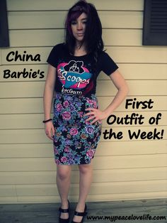China Barbies Very First Outfit of the Week #ootw #ootd #fashion