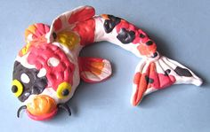 My Adventures In Positive Space: Koi Fish Sculptures: Watch the Video Tutorial!