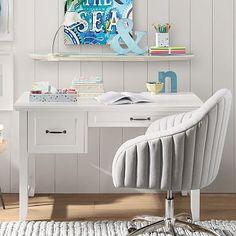 Hampton Single Pedestal Desk #pbteen