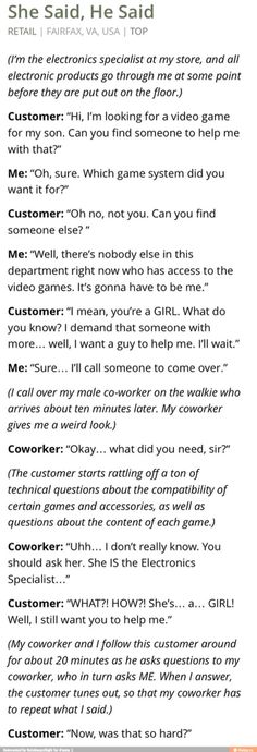 Not all customers are smart