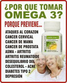 Por què tomar Omega 3? Éste es un omega 3 de pescado azul capturado cerca del polo en Noruega, pasa un proceso de 5 micro-filtrados y el último es a nivel molecular, para evitar esas trazas de plomo que llevan todos buenos Omega 3 (elaborados a base de pescados que no proceden de piscifactoría) excepto el de Nutrilite. El Omega 3 de Nutrilite, ha recibido numerosas menciones y premios, no en vano es la primera marca de Omega 3 a nivel mundial. Nutrilite Vitamins, Amway Home, Amway Business, Omega 3, Organic Vitamins, Energy Boosters, Healthy Lifestyle Tips, Bone Health, Natural Supplements