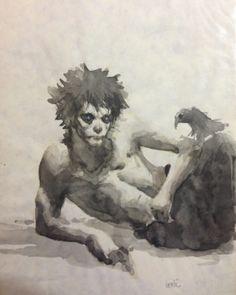 Sandmans Morpheus Comic Art