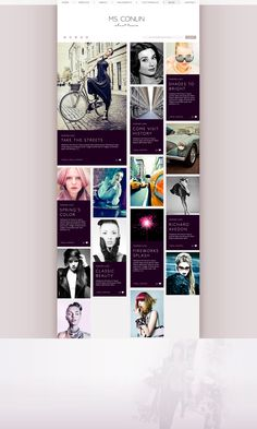 Carmen Virginia Grisolia on Behance Web Design for Fashion History Taking, Richard Avedon, Classic Beauty, Spring Colors, Fireworks, Fashion Online, Virginia, Web Design, Photo Wall