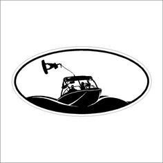 Wakeboarding  Decal Window Laptop Stickers by eyecandysigns1, $4.00