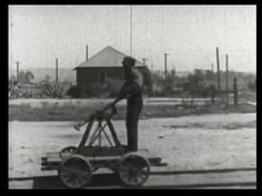 308. The janitor on a handcar | Fast and Furious (1924)