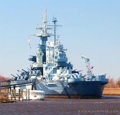 USS North Carolina Battleship in Wilmington NC
