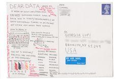 Giorgia Lupi & Stefanie Posavec: Dear Data, Week 11:  A week of emotions