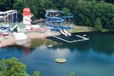 Lake Compounce Theme Park in Bristol, CT about 5 min from my home in CT...lots of fun!