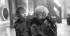 DaeLo! haha Zelo is so fed up with Daehyun Hyung trying to kiss him xD