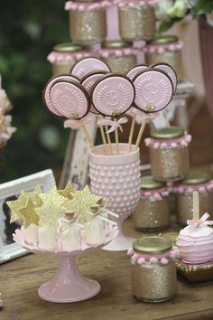 Favors + sweets from a Princess Aurora + Sleeping Beauty Birthday Party via Kara's Party Ideas KarasPartyIdeas.com (8)