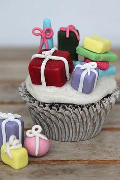 Pear chocolate cupcake by flickan & kakorna, via Flickr