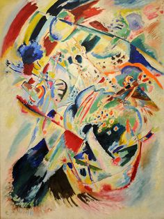 Vasily Kandinsky - Panel for Edwin R. Campbell No. 4