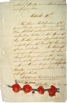 American Revolution-Traité de Paris